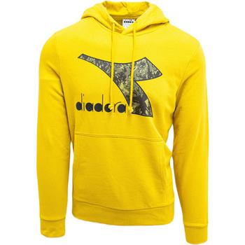 Textiel Heren Sweaters / Sweatshirts Diadora Big Logo Geel