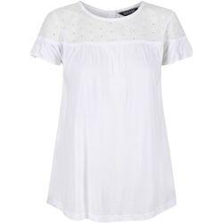 Textiel Dames T-shirts korte mouwen Regatta  Wit