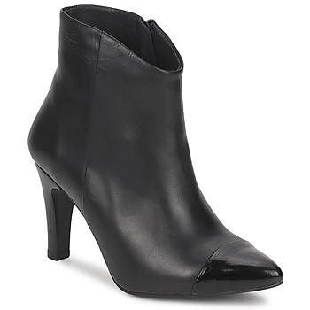 Schoenen Dames Enkellaarzen Pastelle ARIEL Zwart