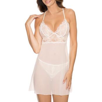 Textiel Dames Pyjama's / nachthemden Gorteks CHARLIZE/K cream Beige