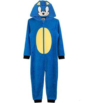 Textiel Jongens Pyjama's / nachthemden Sonic The Hedgehog  Blauw