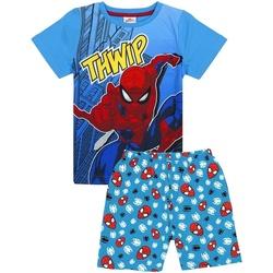 Textiel Jongens Pyjama's / nachthemden Spiderman  Blauw