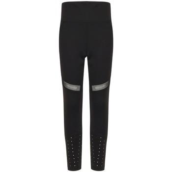 Textiel Meisjes Leggings Tombo TL673 Zwart