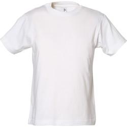Textiel Jongens T-shirts korte mouwen Tee Jays TJ1100B Wit