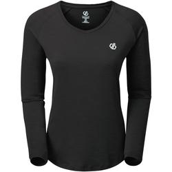 Textiel Dames T-shirts met lange mouwen Regatta  Zwart