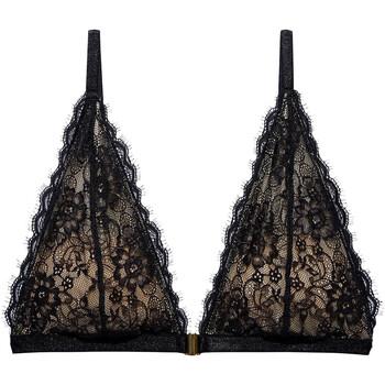 Ondergoed Dames Bralettes/zonder beugel Underprotection AW2068 BLK Zwart