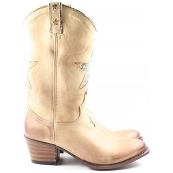 Schoenen Dames Laarzen Sendra boots DAMES enkellaars   11086 beige beige