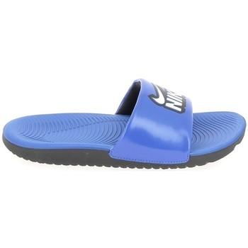 Schoenen slippers Nike Kawa K Bleu 1010473240017 Blauw