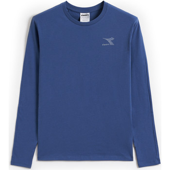 Textiel Heren Sweaters / Sweatshirts Diadora Ls Blink Blauw