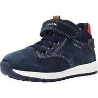Schoenen Jongens Laarzen Geox B ALBEN BOY Blauw