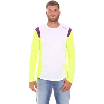Textiel Heren T-shirts met lange mouwen Diadora 102175720 Wit