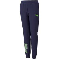 Textiel Jongens Trainingsbroeken Puma 589207 Blue/White