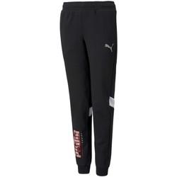 Textiel Jongens Trainingsbroeken Puma 589207 Black