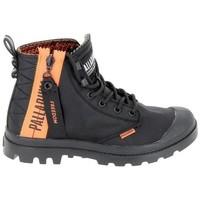 Schoenen Hoge sneakers Palladium Pampa Unlcked U Noir Zwart