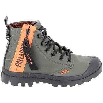 Schoenen Hoge sneakers Palladium Pampa Unlcked U Olive Groen