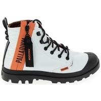 Schoenen Hoge sneakers Palladium Pampa Unlcked U Blanc Wit