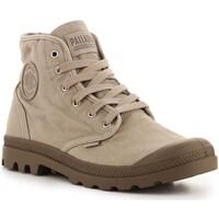 Schoenen Heren Hoge sneakers Palladium US Pampa High Hi 02352-297-M Dune grey