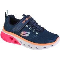 Schoenen Meisjes Lage sneakers Skechers Glide-Step Sport Bleu marine