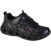 Schoenen Meisjes Lage sneakers Skechers Heart Lights Noir
