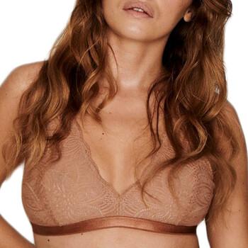 Ondergoed Dames Bralettes/zonder beugel Underprotection HD2029 CLY Bruin