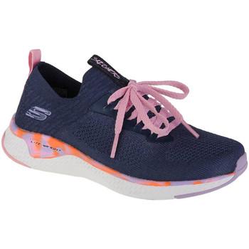 Schoenen Meisjes Lage sneakers Skechers Solar Fuse Bleu marine