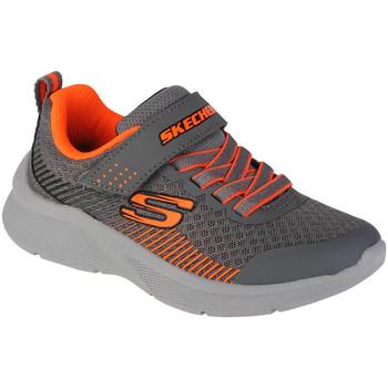 Schoenen Jongens Fitness Skechers Microspec-Gorza Grise