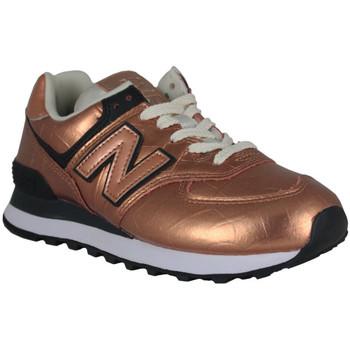 Schoenen Dames Lage sneakers New Balance wl574px2 Oranje