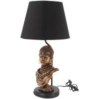 Wonen Tafellampen Signes Grimalt Lamp Met Afrikaanse Figuur Dorado