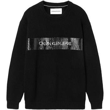 Textiel Heren Truien Calvin Klein Jeans J30J317119 Zwart