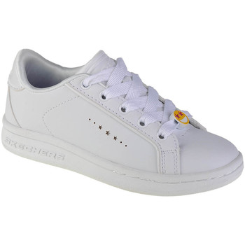 Schoenen Jongens Lage sneakers Skechers Omne-Class Star Blanc
