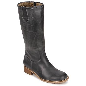 Schoenen Dames Hoge laarzen Jopper JINIDINE Zwart