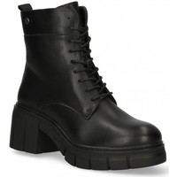 Schoenen Dames Enkellaarzen Etika 55097 zwart