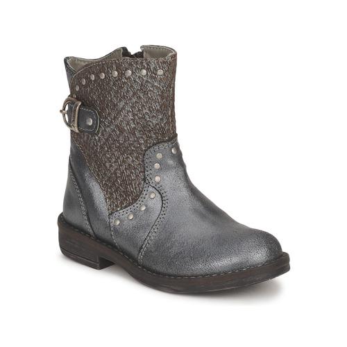 Schoenen Meisjes Laarzen Noel FRANCA Zilver