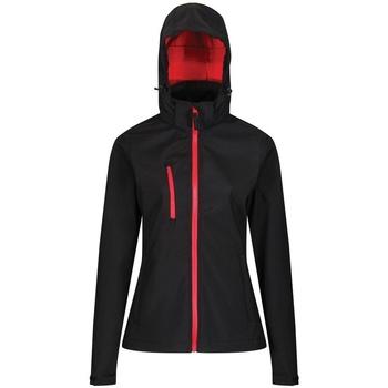 Textiel Dames Wind jackets Regatta RG636 Zwart/Klassiek Rood