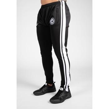 Textiel Heren Trainingsbroeken Gorilla Wear Stratford Track Pants - Black Zwart
