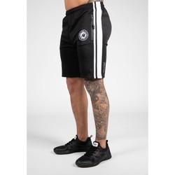 Textiel Heren Korte broeken Gorilla Wear Stratford Track Shorts - Black Zwart