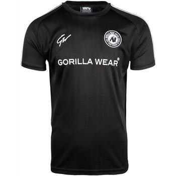 Textiel Heren T-shirts korte mouwen Gorilla Wear Stratford T-Shirt - Black Zwart