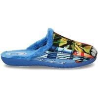 Schoenen Jongens Sloffen Luna Collection 60587 blauw
