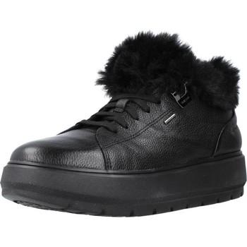Schoenen Dames Snowboots Geox D KAULA B ABX Zwart