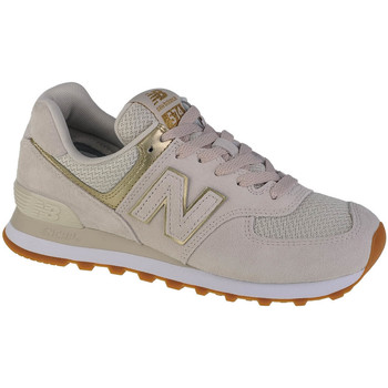 Schoenen Dames Lage sneakers New Balance WL574CB1 Blanc
