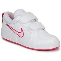 Schoenen Meisjes Lage sneakers Nike PICO 4 PSV Wit / Roze