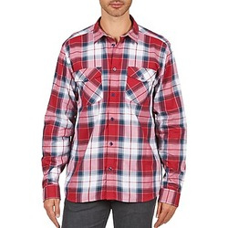 Textiel Heren Overhemden lange mouwen Wesc JOEY Rood