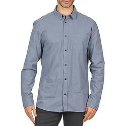 Textiel Heren Overhemden lange mouwen Wesc YANIK Blauw