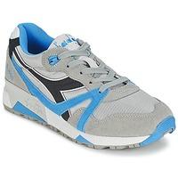 Schoenen Lage sneakers Diadora N9000  NYL Grijs / Blauw / Zwart
