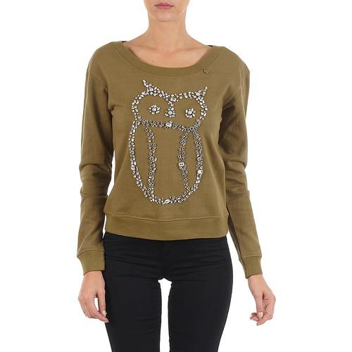 Textiel Dames Sweaters / Sweatshirts Lollipops POMODORO LONG SLEEVES Kaki
