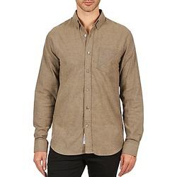 Textiel Heren Overhemden lange mouwen Kulte CHEMISE CLAY 101799 BEIGE Beige