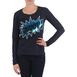 Textiel Dames T-shirts met lange mouwen Brigitte Bardot BB43130 Blauw