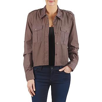 Textiel Dames Overhemden Brigitte Bardot BB43077 Bruin