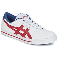 Schoenen Lage sneakers Asics AARON Wit / Rood