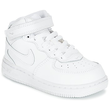 Schoenen Kinderen Lage sneakers Nike AIR FORCE 1 MID TODDLER Wit